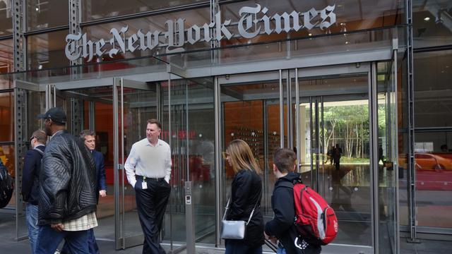 Afspraak Trump met The New York Times gaat alsnog door