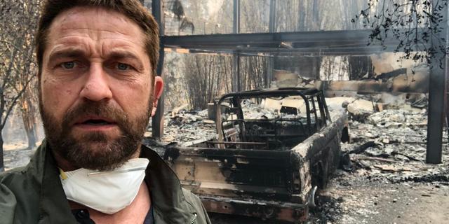 Huizen Robin Thicke, Miley Cyrus en Gerard Butler verwoest door brand