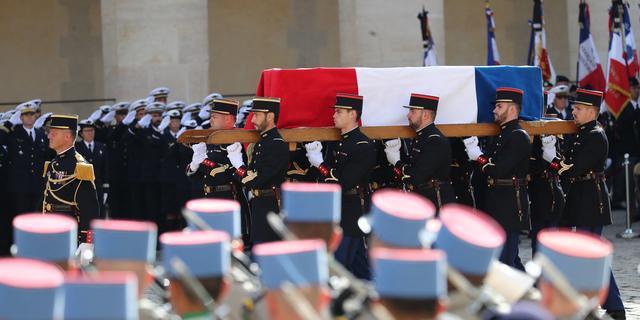 Franse oud-president Jacques Chirac (86) begraven in Parijs