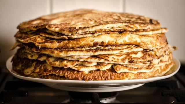 Wacht tot de pan sist en meer tips voor het bakken van pannenkoeken