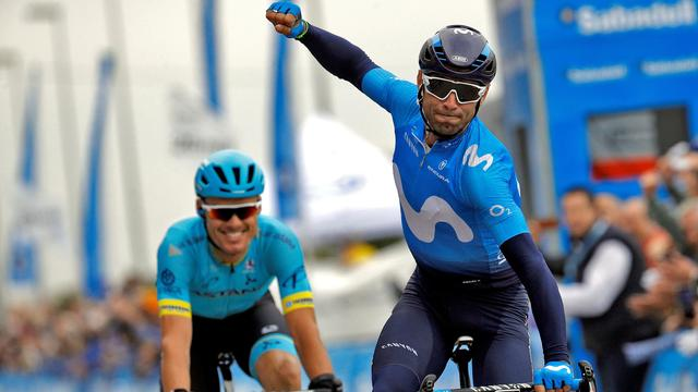 Van Poppel raakt leiderstrui Ronde van Valencia kwijt aan Valverde