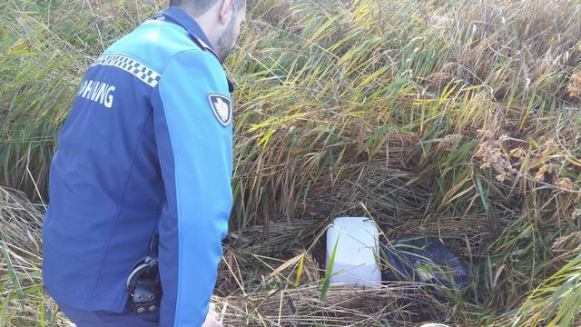 Vermoedelijk drugsafval gevonden aan Spaarndamseweg