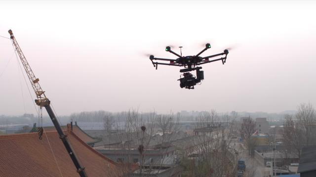 DJI lanceert nieuwe drone voor professionele filmmakers