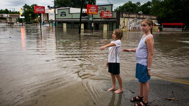 Dagenlange regenval lijkt voorbij in Texas