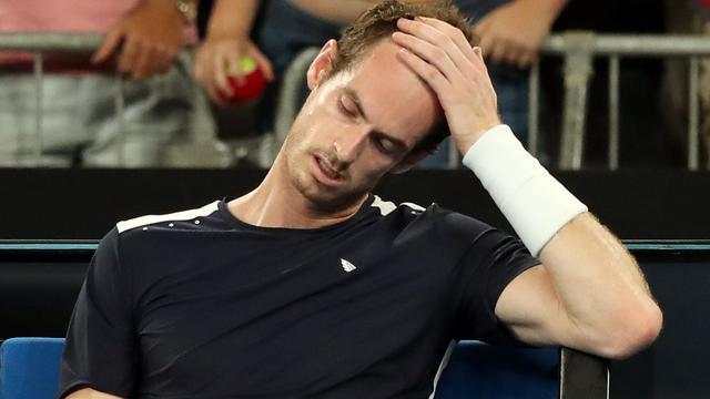 Murray verliest direct bij laatste Australian Open, Federer en Nadal wel door