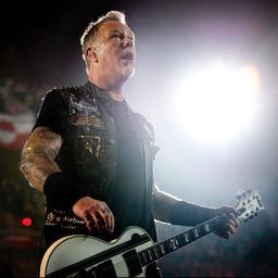 Amerikaanse band Metallica in 2022 op Pinkpop te zien