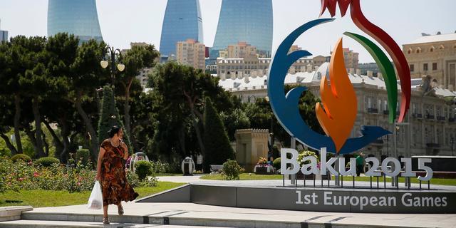 Taekwondoka uit Almelo draagt vlag bij opening Europese Spelen