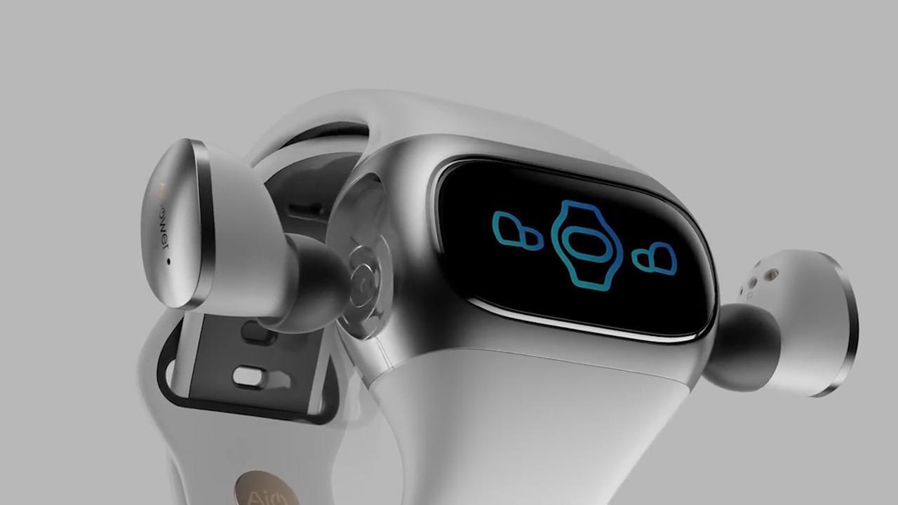 Deze draadloze oordopjes zijn op te laden via een smartwatch