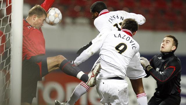 Farfán kopt PSV naar een 0-1 zege tegen CSKA