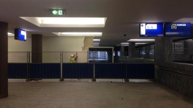Opening tunnel bij station Breda aanstaande
