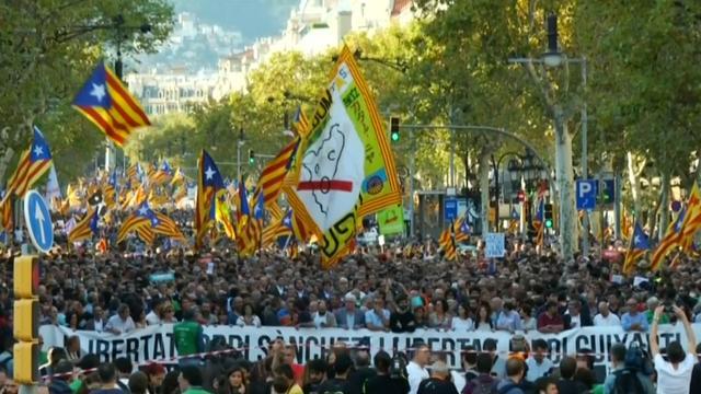 Weer massaal protest om onafhankelijkheid