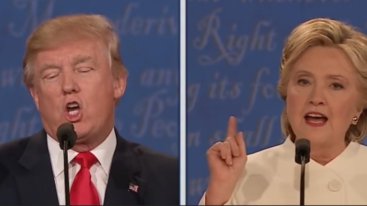 Clinton confronteert Trump met Russische bemoeienis verkiezingen (2016)