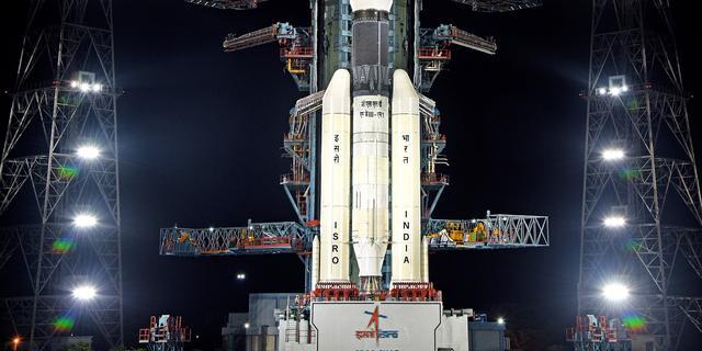 India kondigt nieuwe datum voor lancering eerste maanmissie aan