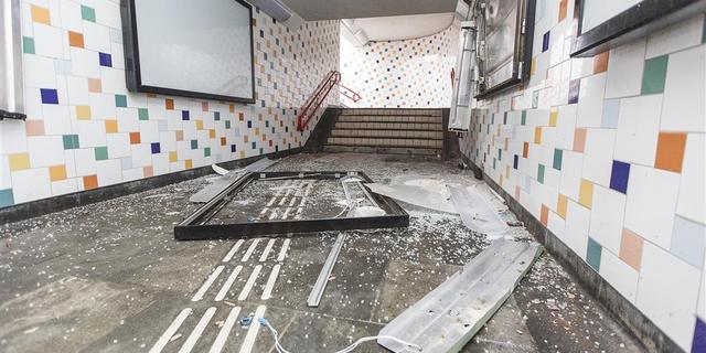 Hulpdiensten melden incidenten, ravage op station Vught