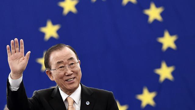 Ban Ki-moon besluit niet mee te doen aan verkiezingen Zuid-Korea