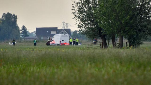 Twee doden door ongeval met vliegtuigje in Zuid-Hollands Bergambacht