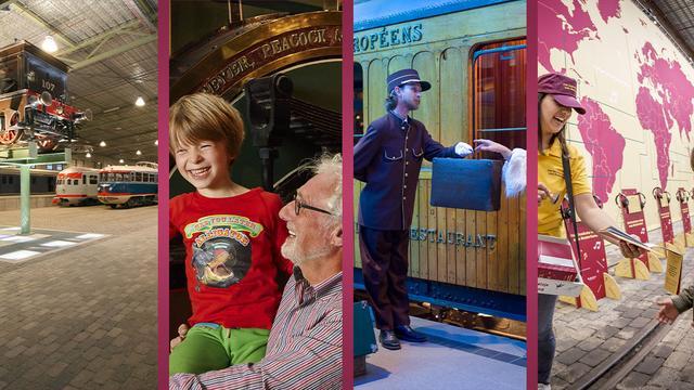 Bezoek het Spoorwegmuseum nu van 17,50 voor 10 euro