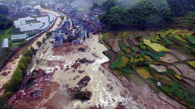 Zeker 32 vermisten na aardverschuiving China