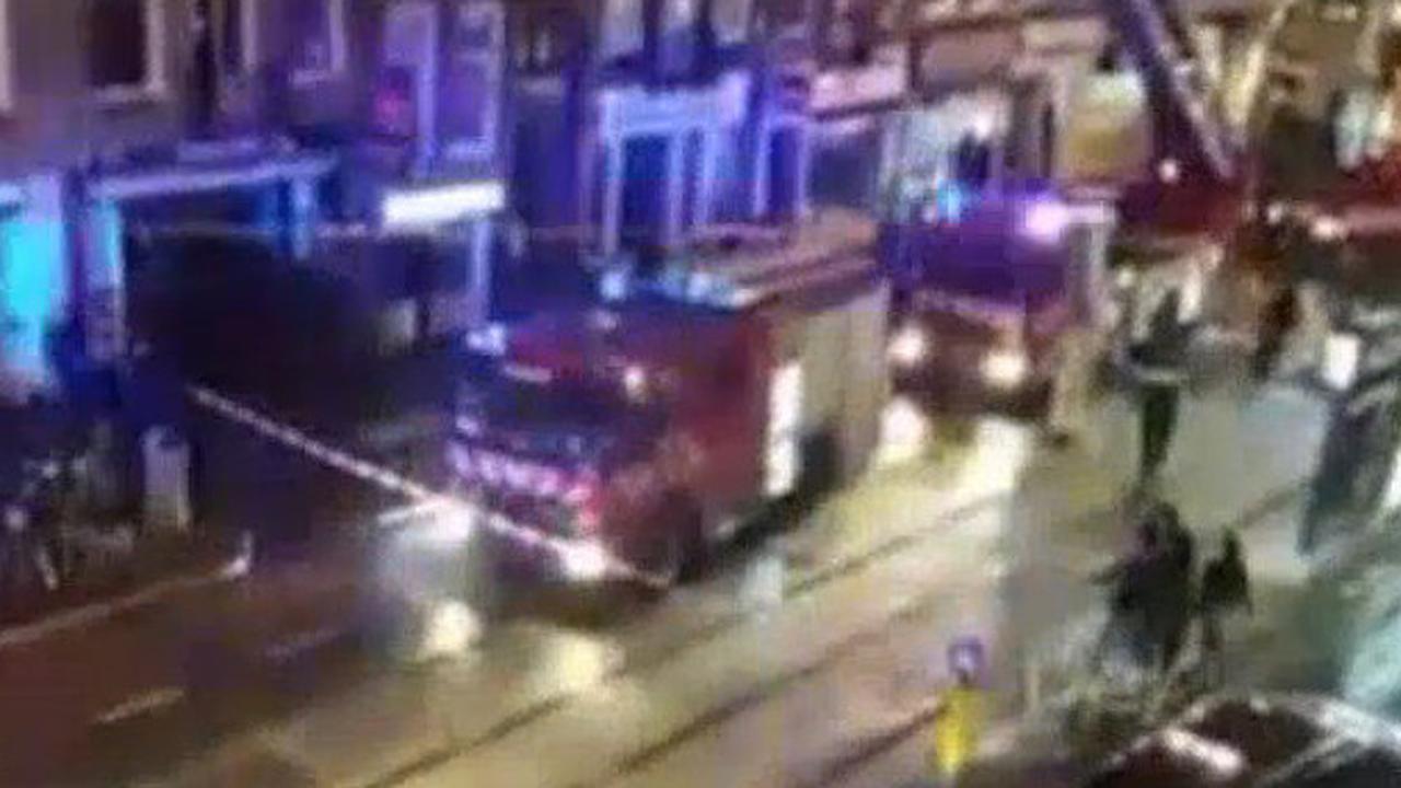 Brandje in shishabar aan de Kinkerstraat