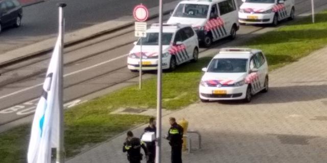 Politieactie TU Delft afgebouwd, geen vuurwapen aangetroffen na melding