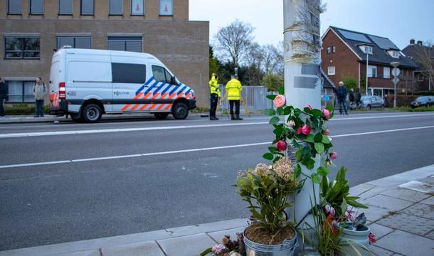 Politie en NFI doen onderzoek naar fataal ongeluk Van de Spiegelstraat