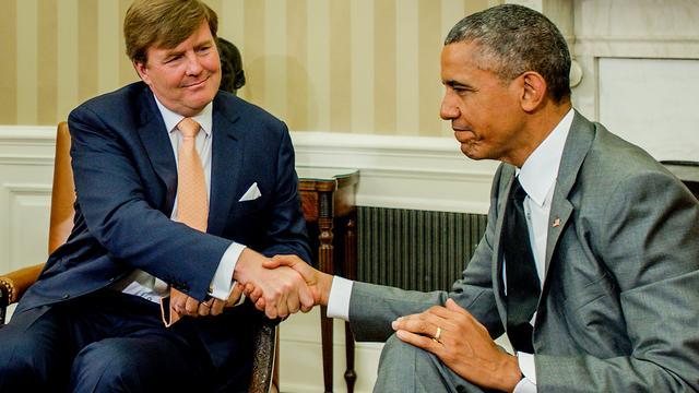 Koning pleit voor meer samenwerking met gezondheidszorg VS