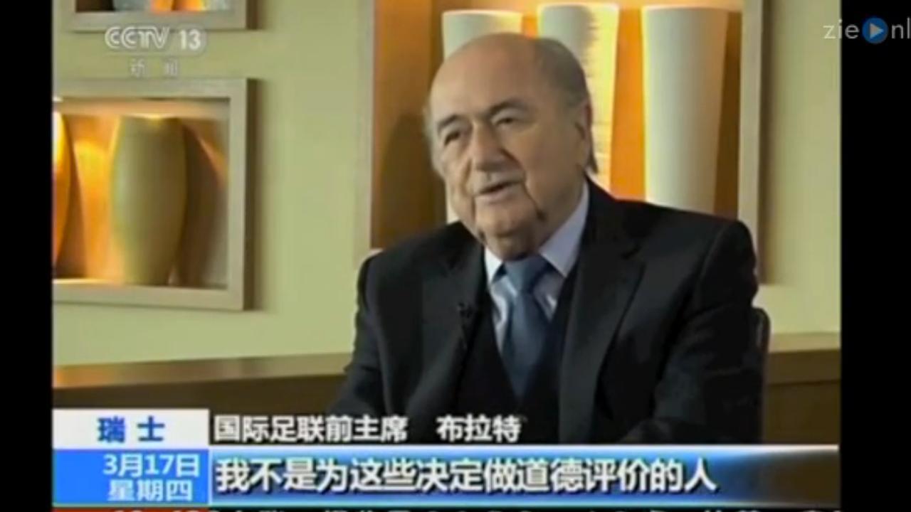 Blatter legt schuld bij anderen