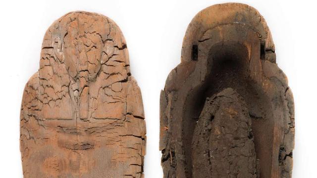 Jongste Egyptische mummie ter wereld ontdekt in museumarchief