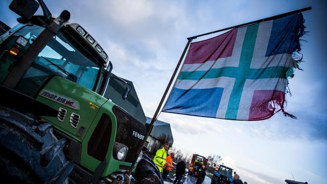 Groningse actievoerders mogen niet met tientallen tractoren Den Haag in