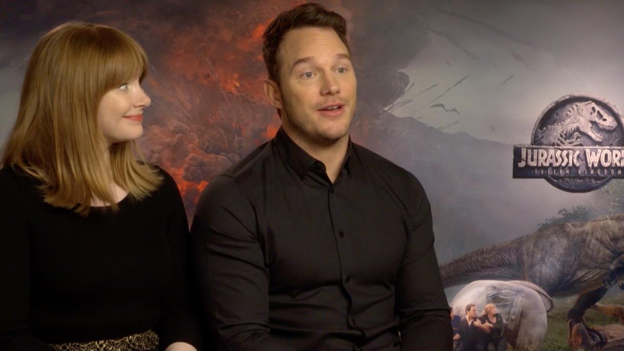 Jurassic World-ster Chris Pratt is 'nog lang niet klaar met dino's'