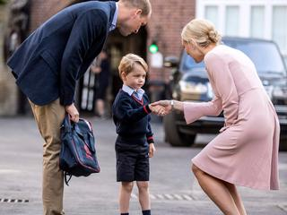 Kate Middleton kan zoon niet naar school brengen