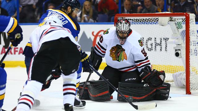 Titelverdediger Chicago Blackhawks uitgeschakeld in NHL