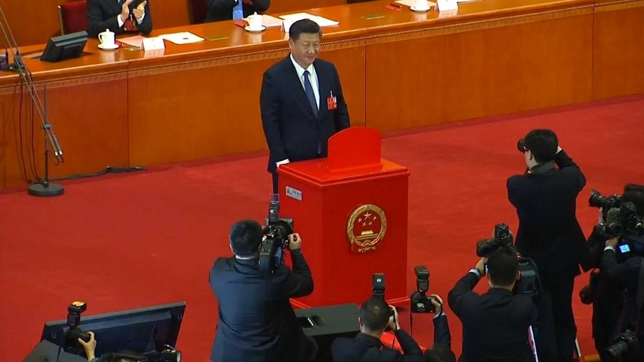 China stemt voor onbeperkte regeerperiode president