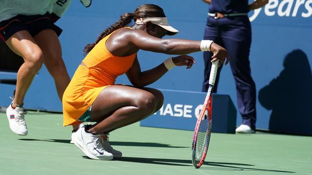 Serena Williams Voor Negende Keer Op Rij Bij Laatste Vier Us Open