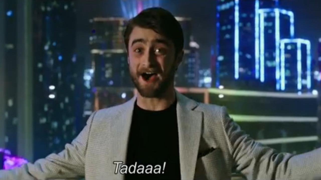 Daniel Radcliffe wil teleporteren om files te vermijden