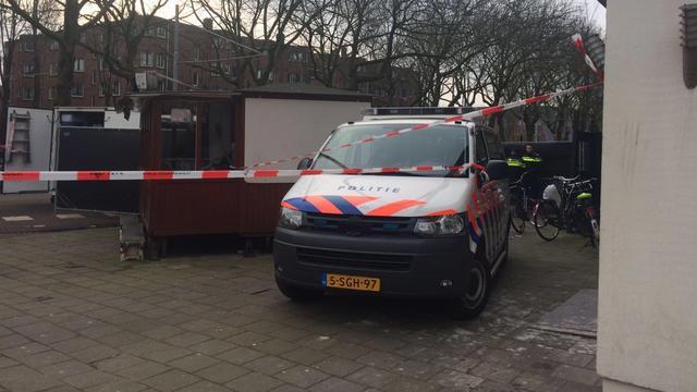 Neerzetten hoofd in Amsterdam is gefilmd door bewakingscamera