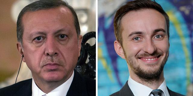 Komiek Jan Böhmermann mag delen Erdogan-gedicht niet meer voorlezen