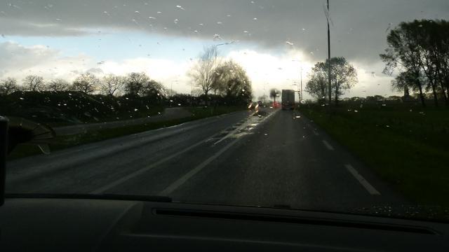 Afwisselend lenteweer in Utrecht