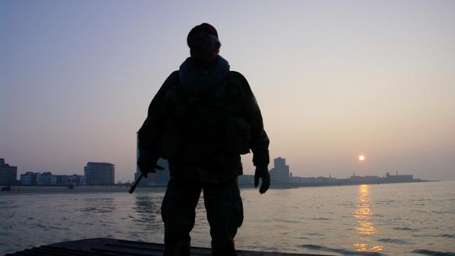 Korps Mariniers oefent in Vlissingen