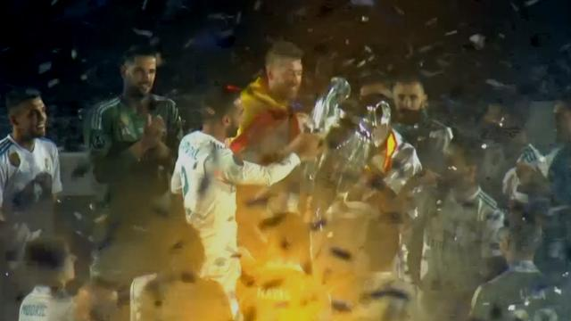 Feestelijke huldiging Real Madrid na Champions League-winst