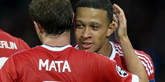 United met Memphis en Blind in basiself tegen Club Brugge