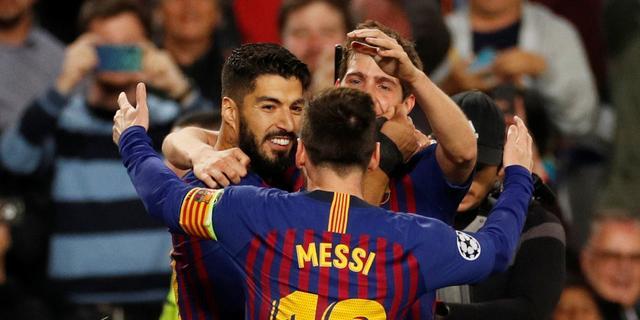 FC Barcelona na geflatteerde zege op Liverpool dicht bij CL-finale