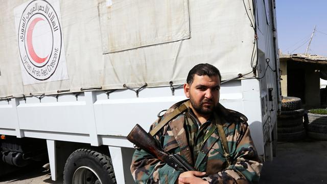 Deel medische hulpgoederen Ghouta tegengehouden