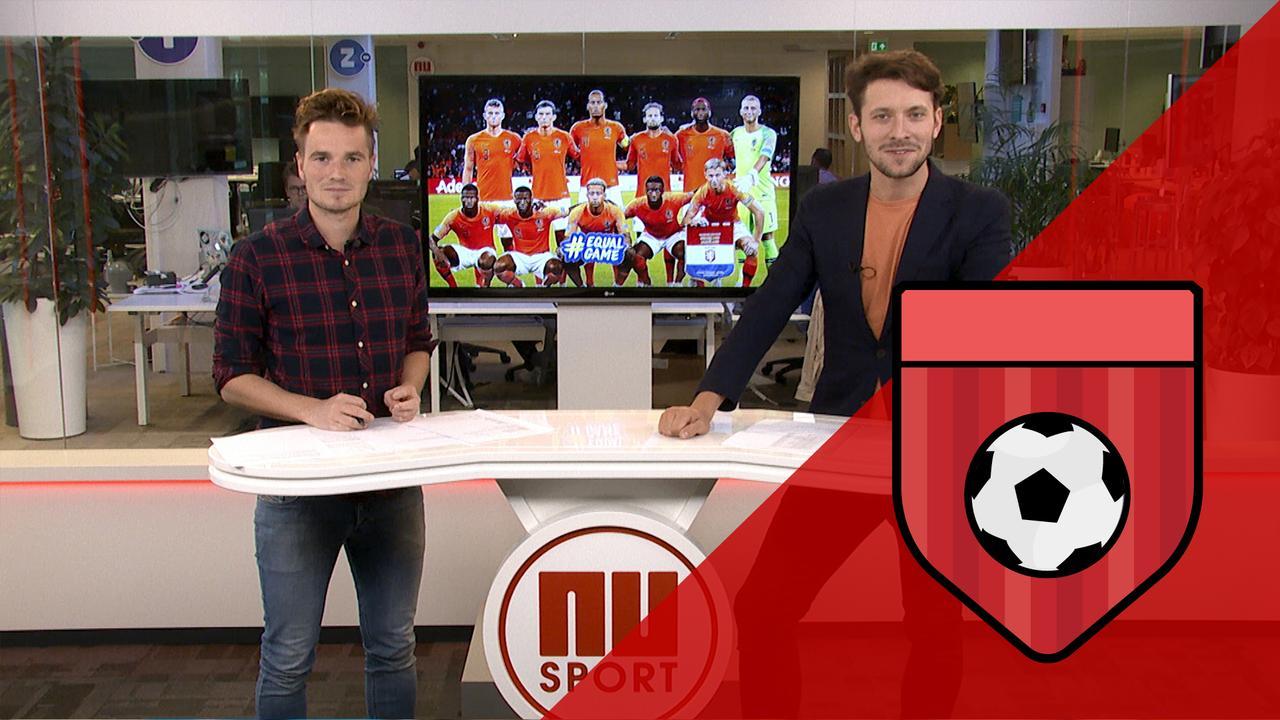 Aftrappen: 'Oranje' tegen FC Emmen, Ajax met telraam