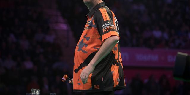 Van Barneveld uitgeschakeld in derde ronde Players Championship 25