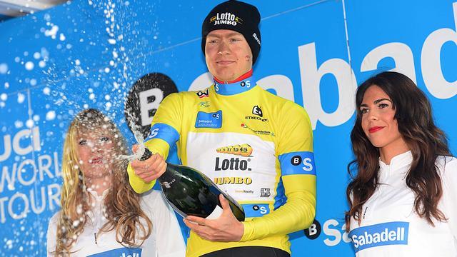 Kelderman neemt leiding over van Landa in Ronde van Baskenland