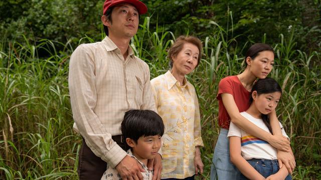 De cast van Minari.
