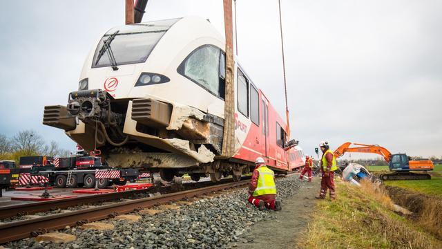 Treinverkeer bij Winsum weer hervat