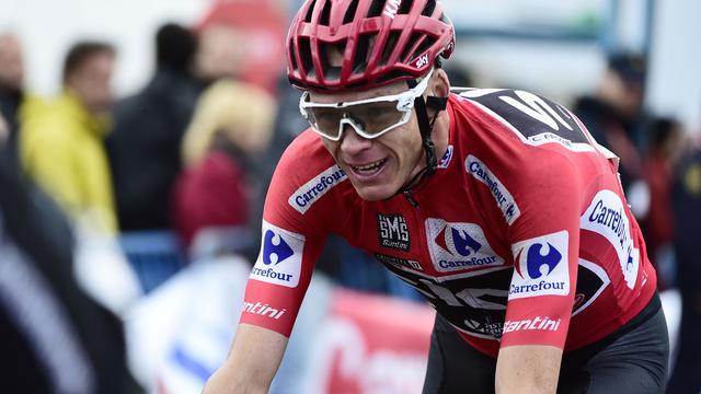 UCI onderzoekt verdachte salbutamolwaarde Froome bij zege in Vuelta