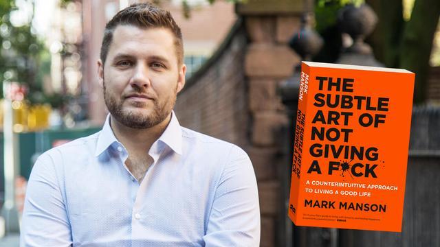 Bestel tickets voor de digitale masterclass met bestseller auteur Mark Manson